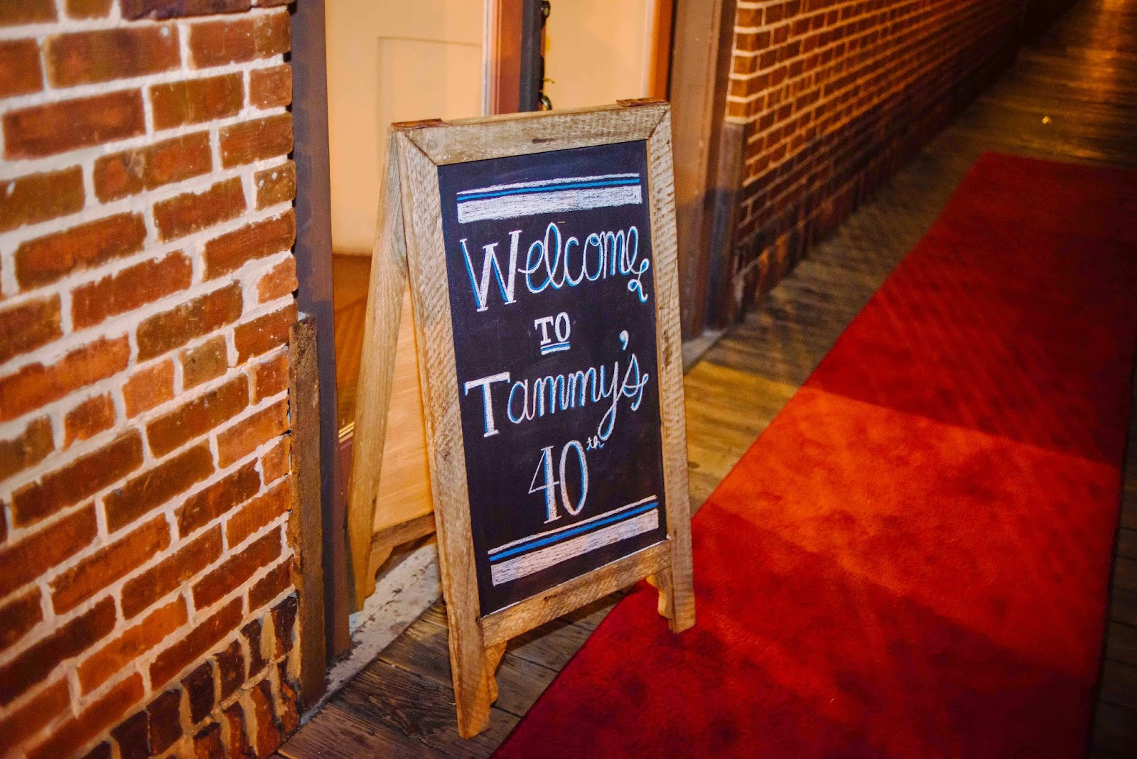 Tammys 40th amp Surprise Vow Renewal 11914 RSVP The