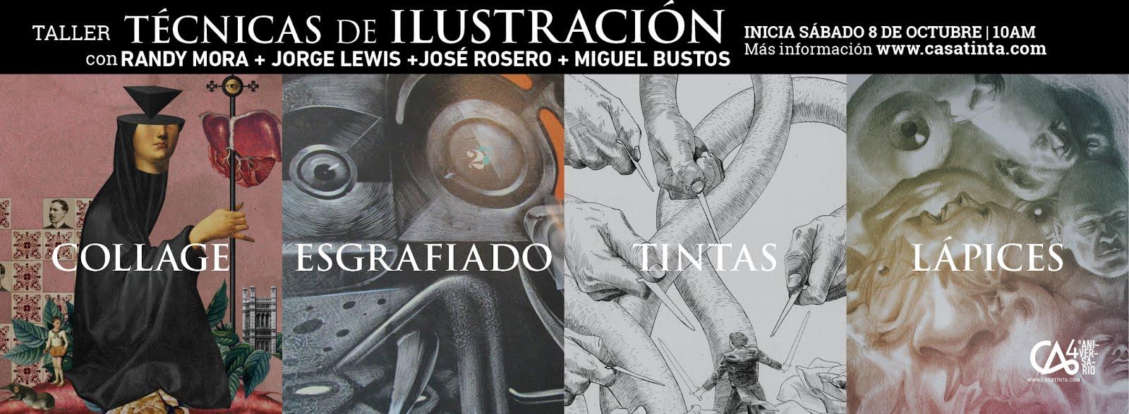 TÉCNICAS de ILUSTRACIÓN // 8 de oct