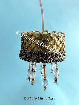 dollhouselamp, goldendollhouselamp, homemade