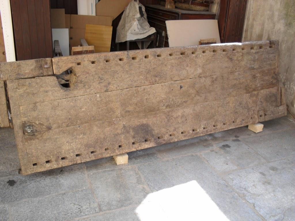 Lanarorestaura restauro tavolo da falegname - Tavolo da falegname ...