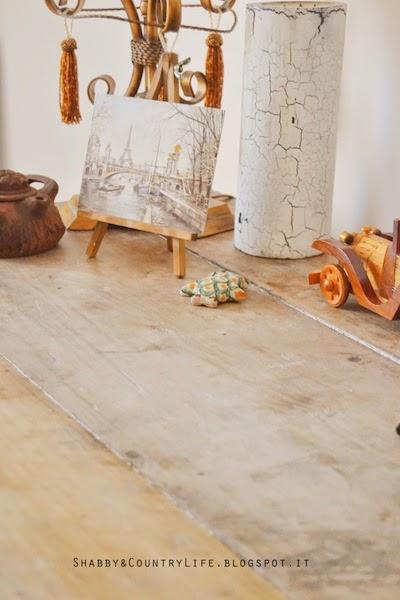 Caro vecchio tavolo.. Ora la scrivania di casa! - shabby&countrylife.blogspot.it