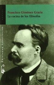 La cocina de los filósofos. Francisco Giménez Gracia