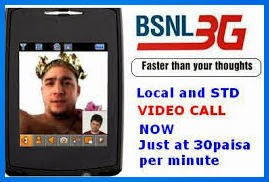 bsnl 3g video call