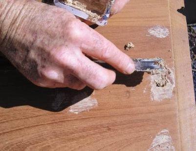Como hacer masilla para madera como se hace aprende de - Pasta para reparar madera ...