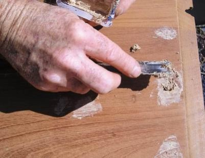 Como hacer masilla para madera como se hace aprende de - Masilla para madera casera ...