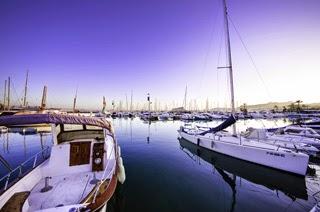 Boten en de jachthaven van Moraira