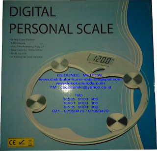 Toko Timbangan Badan Digital
