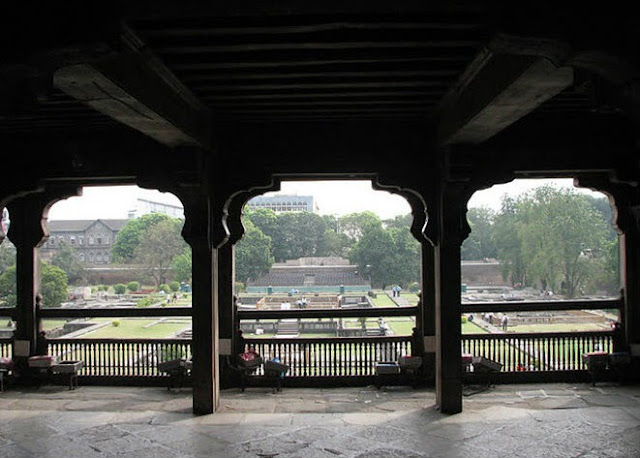 A hall in the first floor above dilli darwaja (Delhi Gate) in Shaniwar wada
