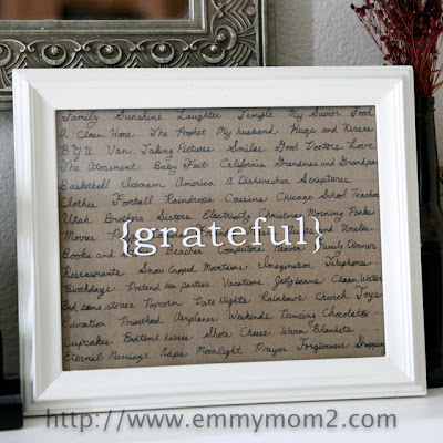 grateful frame, number 3 on list of christmas gifts under $5