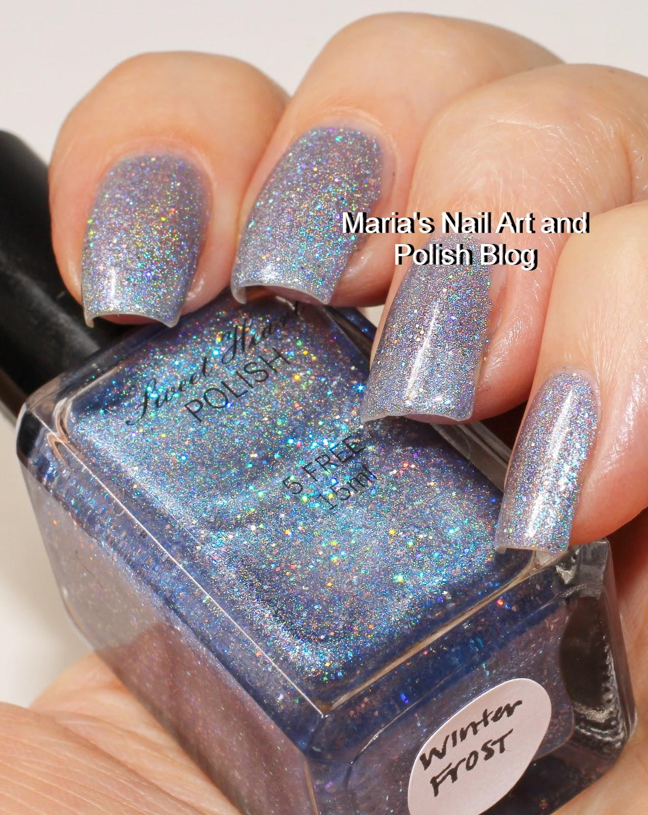 Marias Nail Art and Polish Blog: Sweet Heart Polish Winter Frost ...