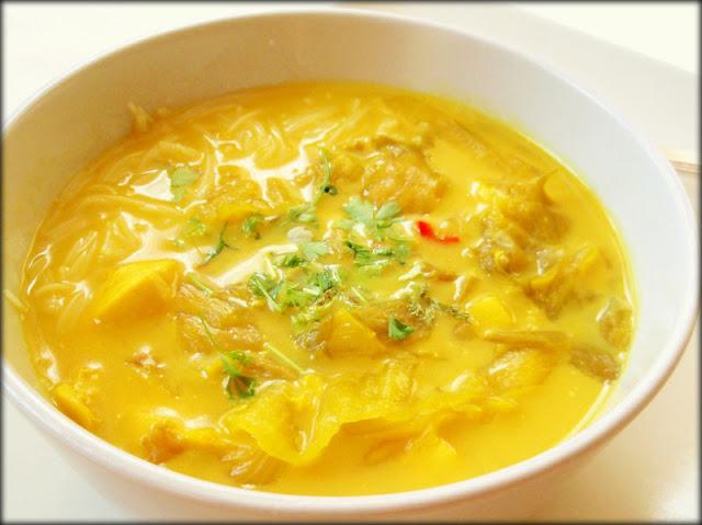 zupa tajska, zupa z kurczakiem