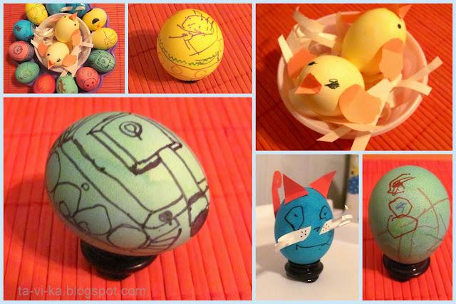 пасхальные яйца и поделки на Пасху