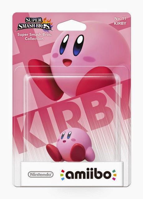 JUGUETES - NINTENDO Amiibo - 11 : Figura Kirby   (28 noviembre 2014) | Videojuegos | Muñeco | Super Smash Bros Collection  Plataforma: WII U