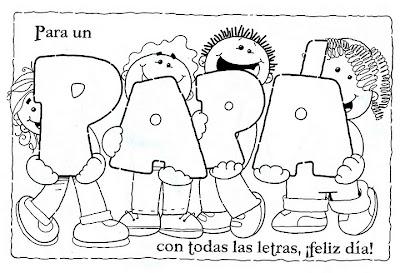 Dibujos para Colorear de Día del Padre - www