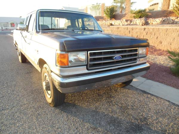 1991 Ford F250 XLT Lariat Truck - Old Truck