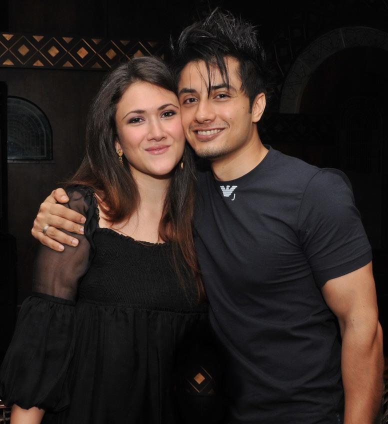 - Ali+Zafar+with+Ayesha+Fazli