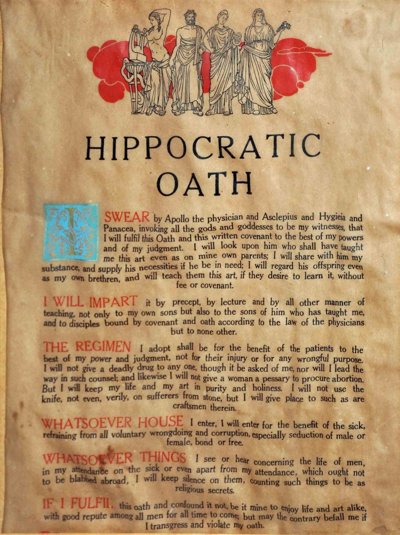 Essays on the hippocratic oath