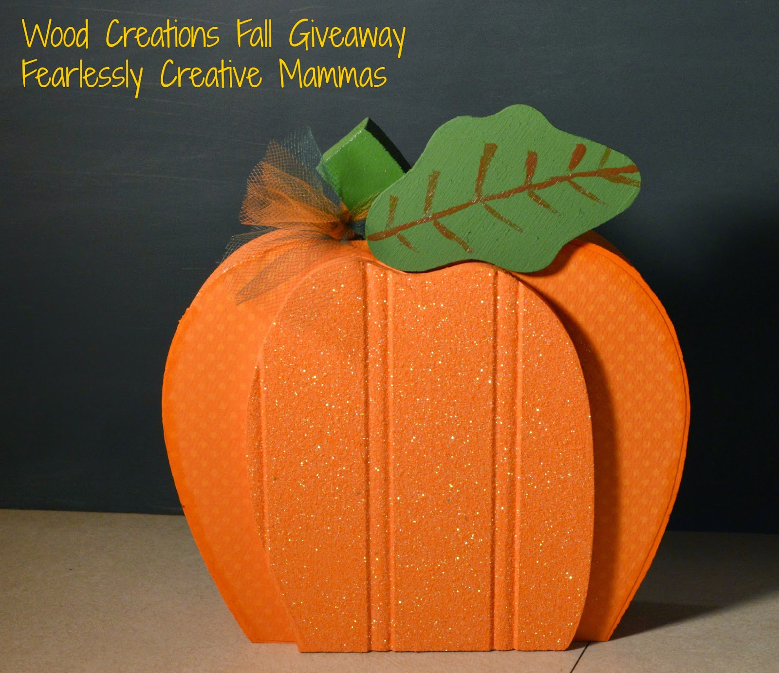 Fall Pumpkin Decorations Plus a Giveaway