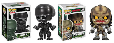 Alien vs. Predator Pop! Movies Vinyl Figures by Funko
