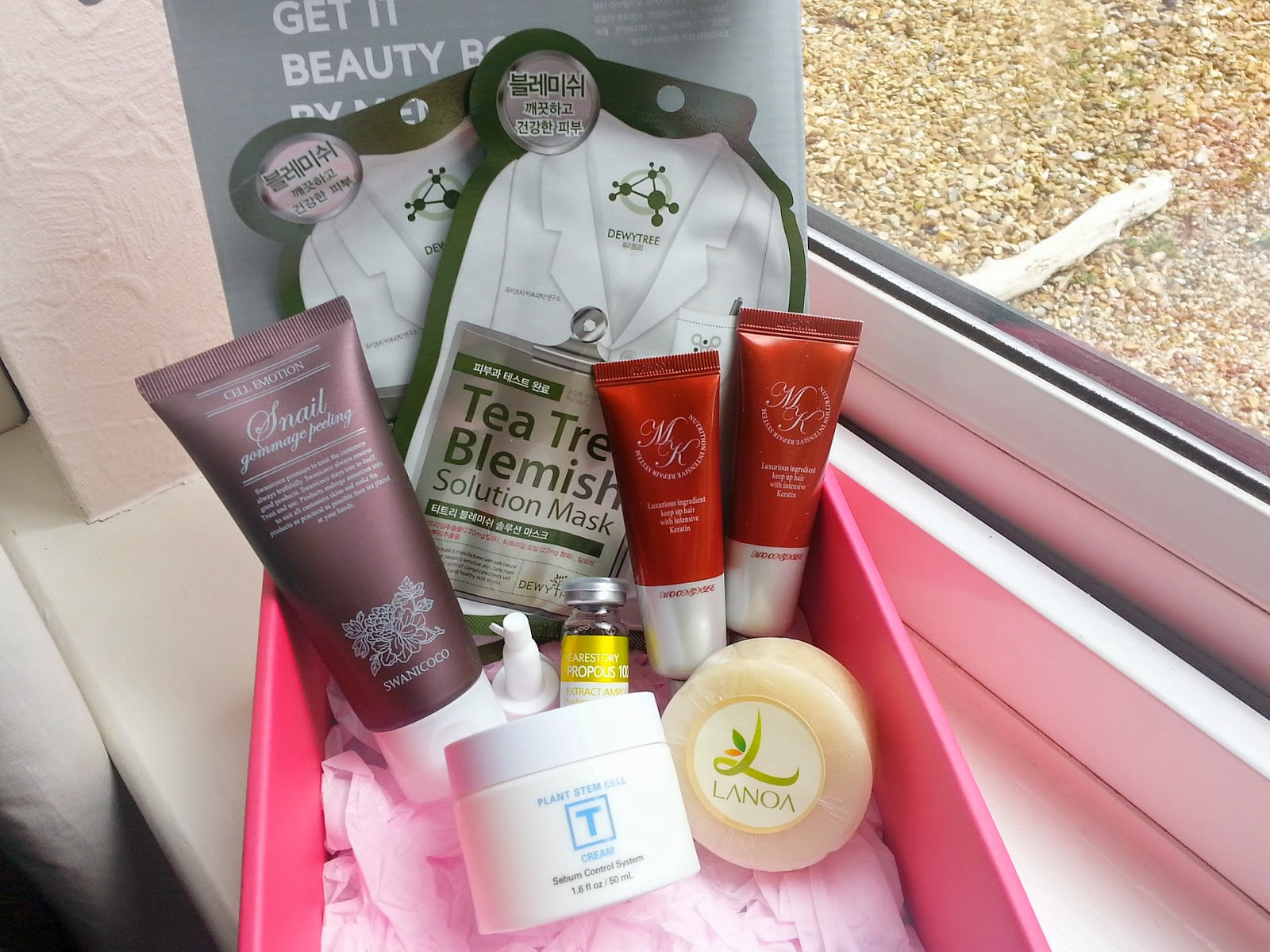 Memebox discount, Memebox From Nature, Korean Beauty Box
