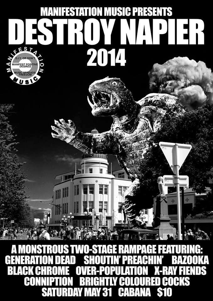 Destroy Napier 2014