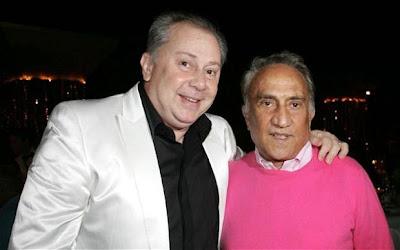 Lele Mora and Emilio Fede