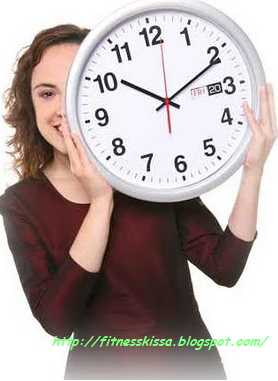 Mengatur jadwal fitness