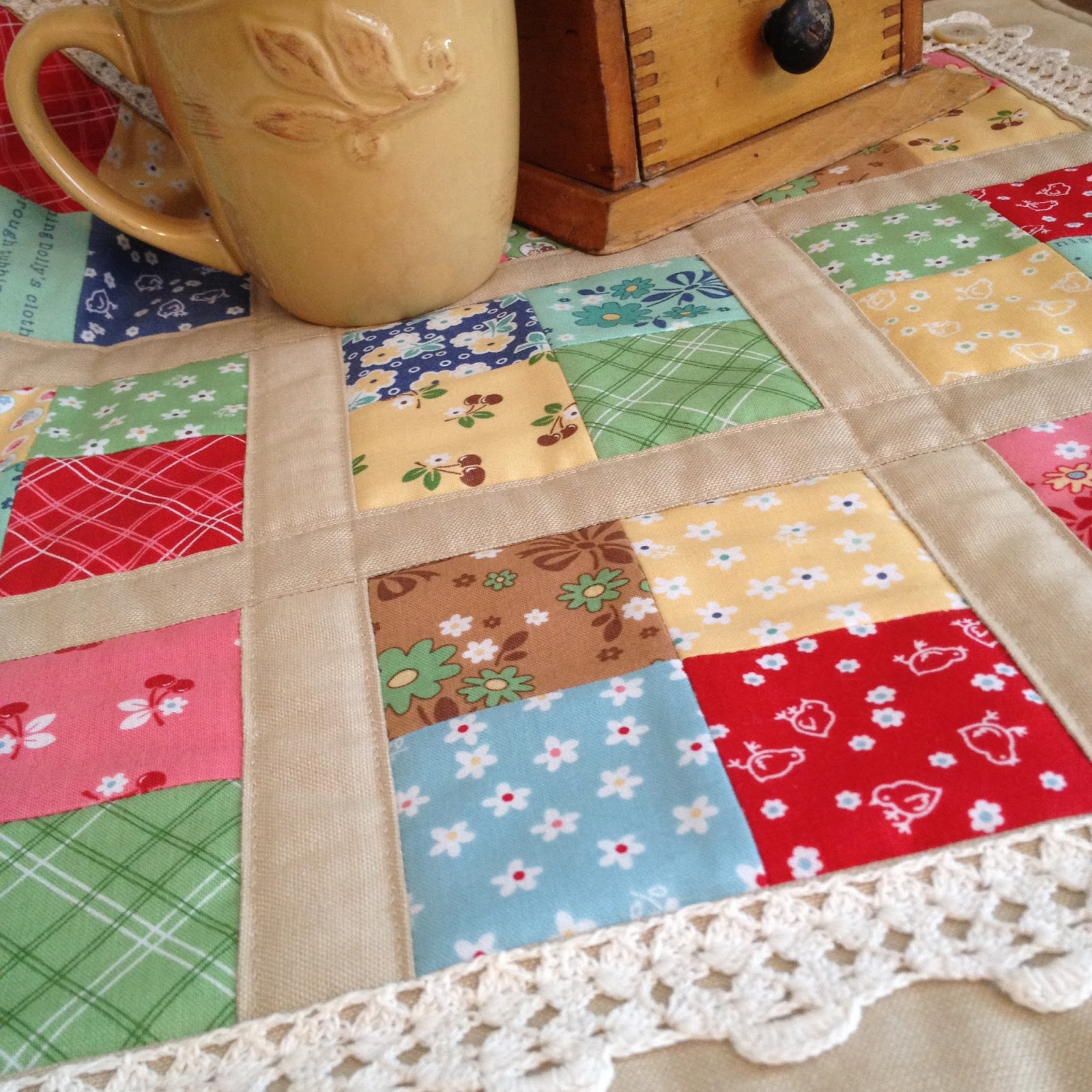 Carried Away Quilting: Coffee time quilt: Why simple is good! : quilts n calicoes - Adamdwight.com