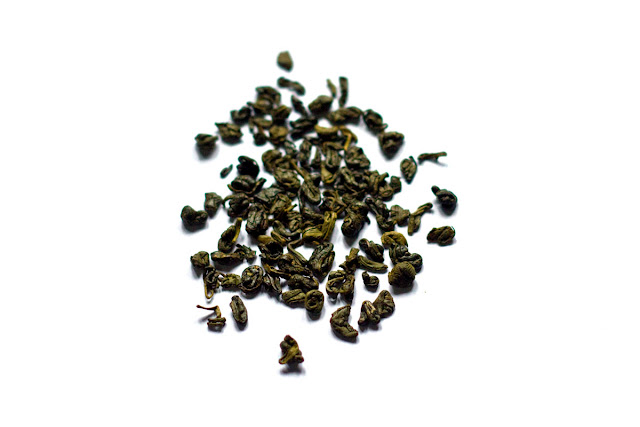 Gunpowder green tea da Ahmad. Foto: Yuri Hayashi