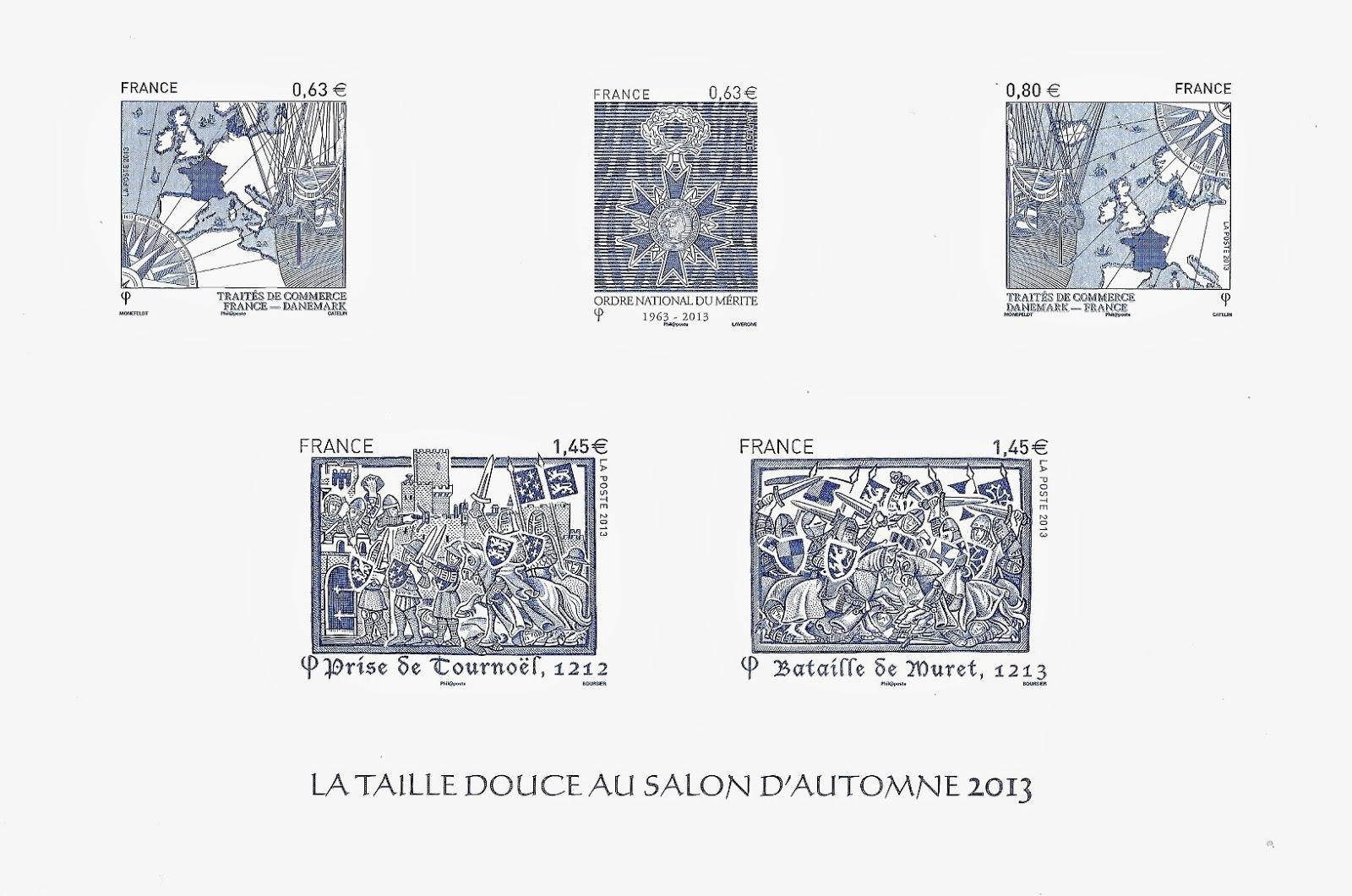 Blog timbr de ma philat lie la taille douce au salon d 39 automne 2013 - Taille des rosiers automne ...