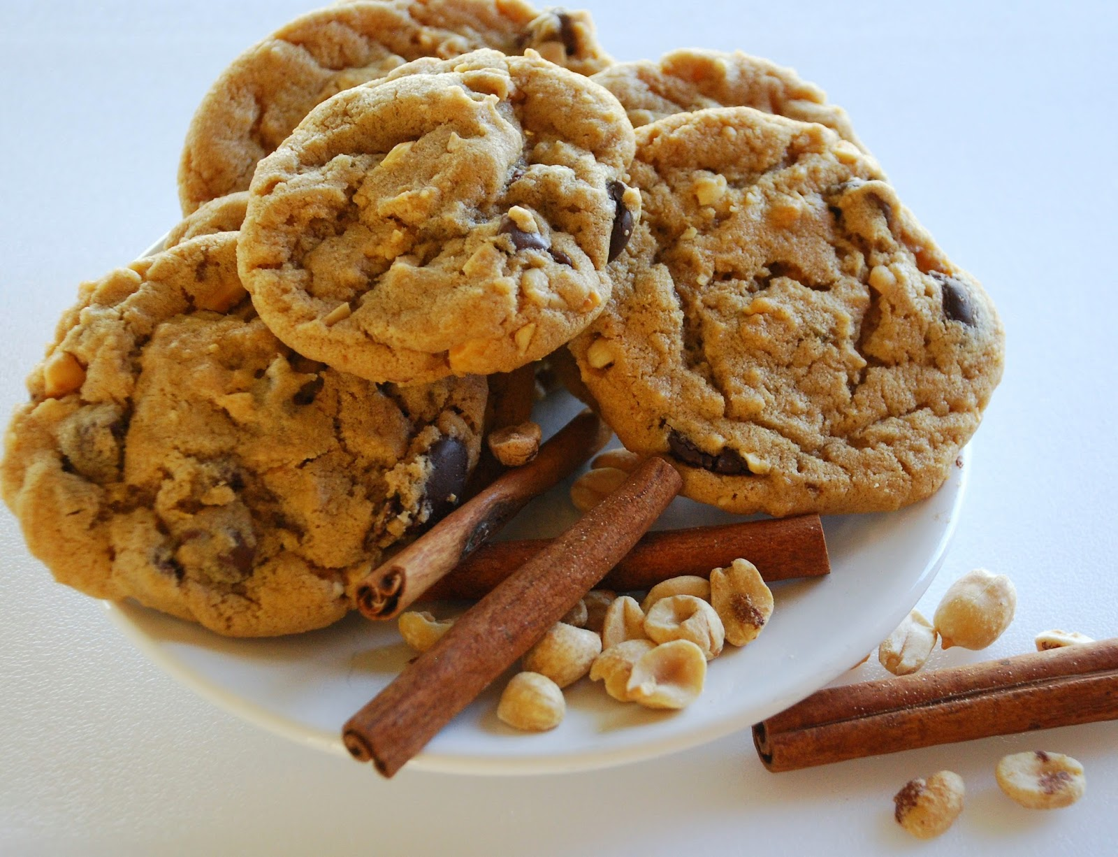 Chunky peanut, chocolate, and cinnamon cookies and laughs ...