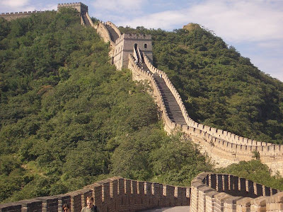 Great Wall of China is one of the most popular wonders of the world