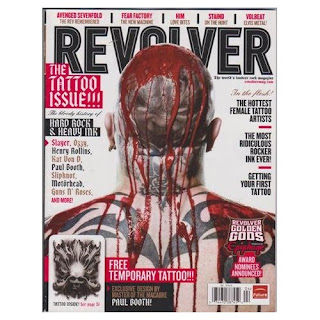 Revolver Magazine The Tattoo Issue - The Bloody History of Hard Rock and Heavy Ink