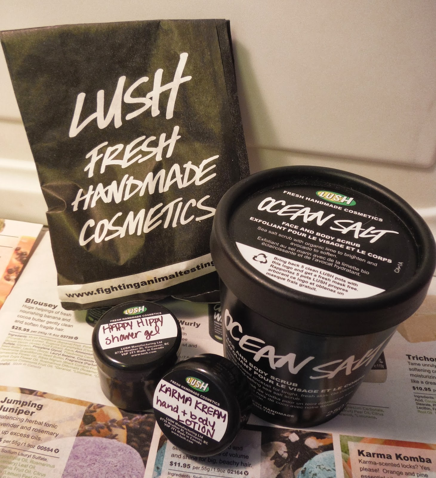Lush favourites | marlee and you