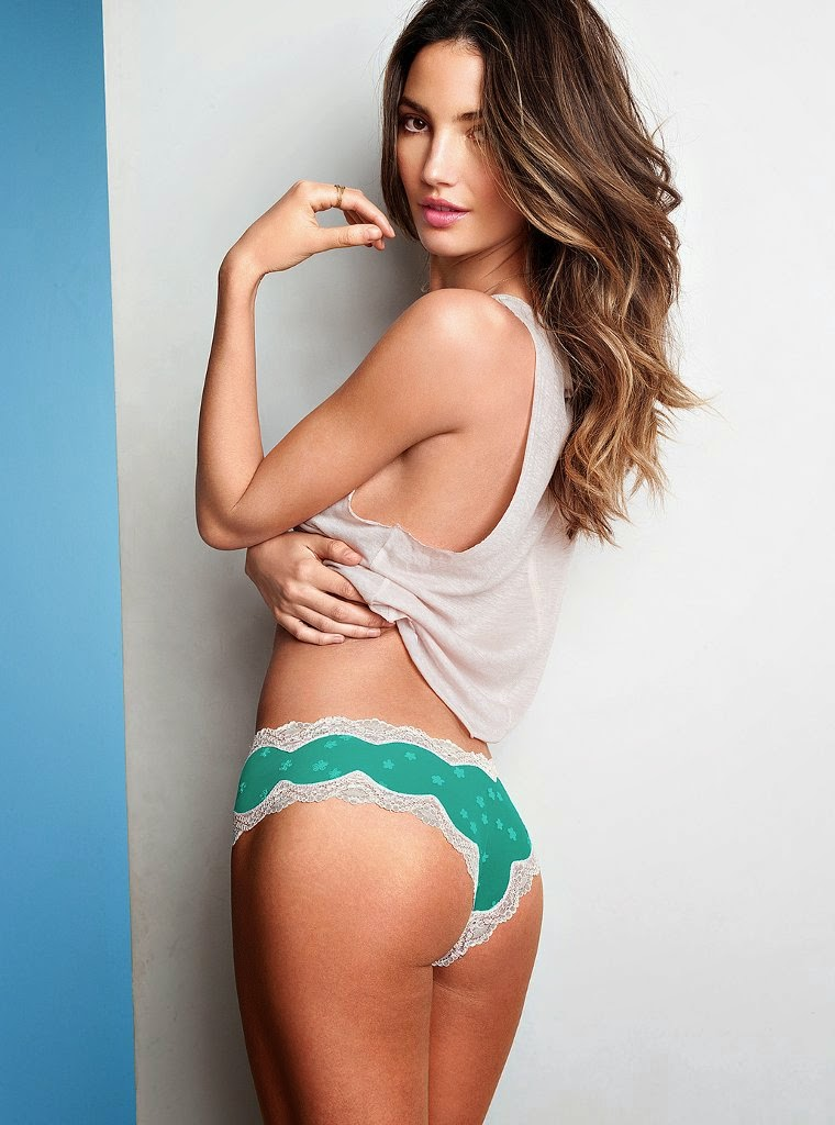 LOS ANGELES CA Lily Aldridge for Victoria's Secret Lingerie, May 2013 (part 2)