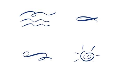 Glückwünsche und Sprüche zur Konfirmation: Kostenloses Grafikset zur Taufe und Konfirmation