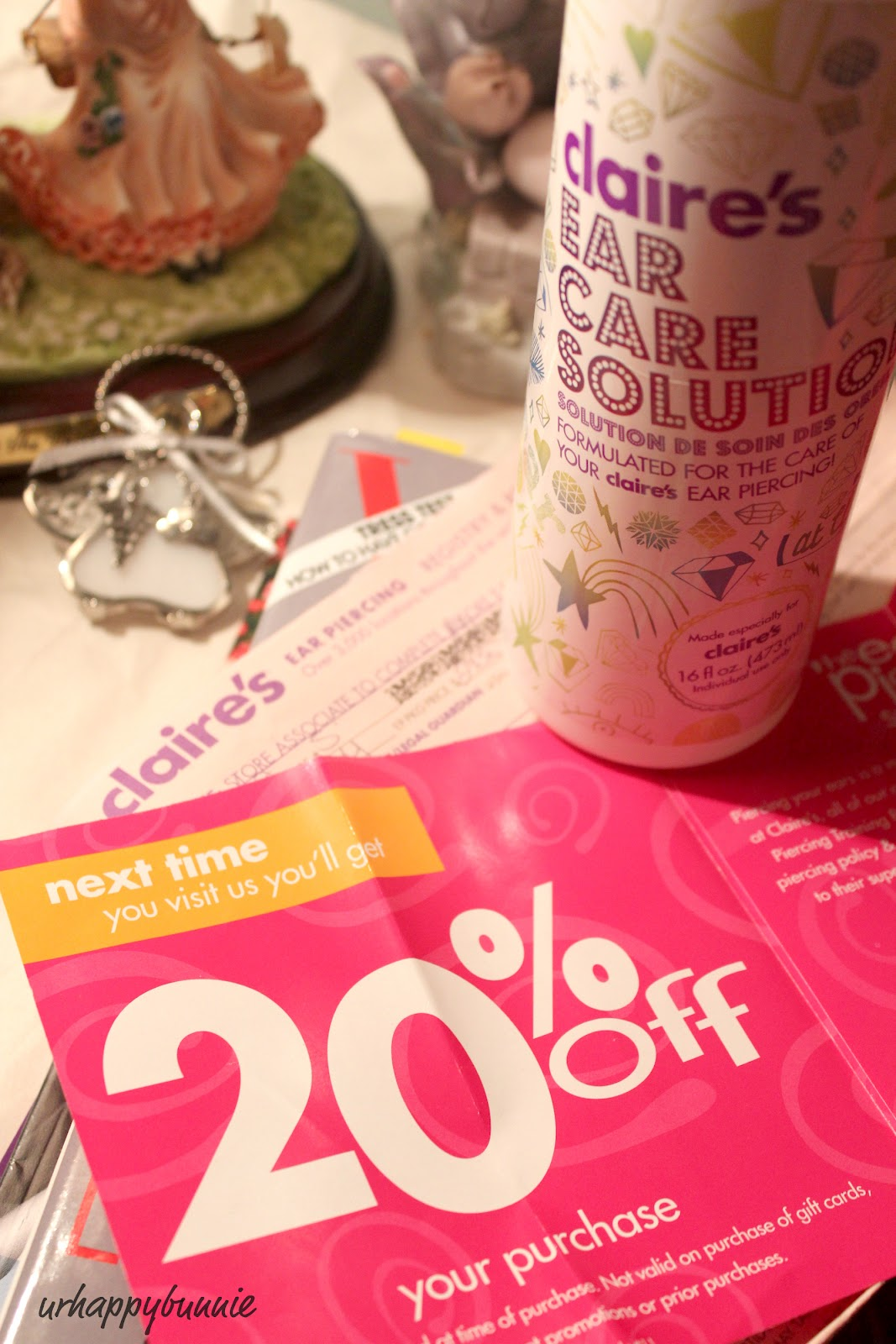 Claire's ear piercing coupons