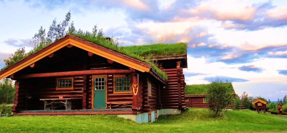 tejados verdes en noruega hobbits o gnomos vuelo n 17
