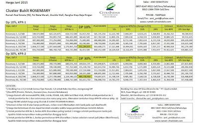 harga-rosemary-citra-indah-juni-2015