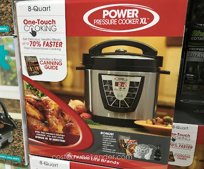 Tristar PPC-8 Power Pressure Cooker XL doubles as a pressure cooker and slow cooker
