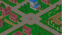 Endless Online Aeven Town Square Wallpaper