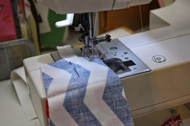 sewing a fabric headband