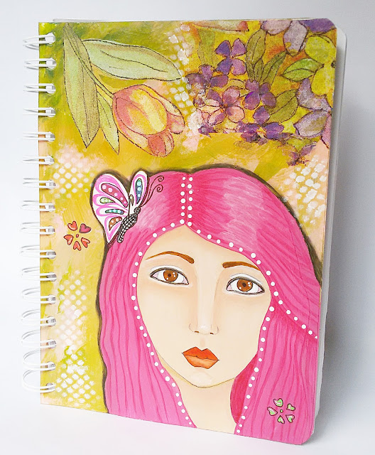 Cuaderno Mixed Media Eleana