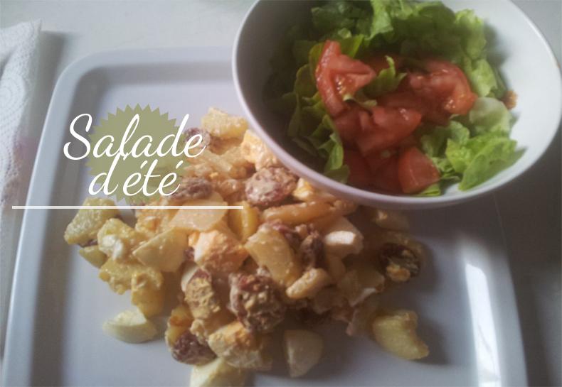 ma recette de salade de pommes de terre et chorizo mlle kaffaniata. Black Bedroom Furniture Sets. Home Design Ideas