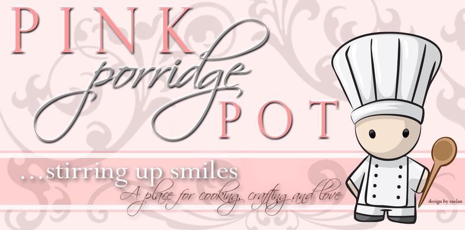 Pink Porridge Pot
