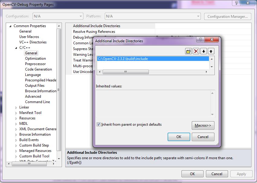 anlak: Using OpenCV 2 4 x with Visual Studio 2010 (tutorial)