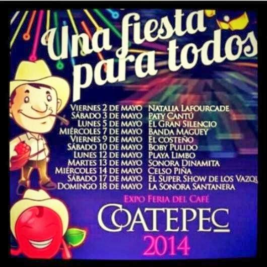 expo feria del café coatepec 2014