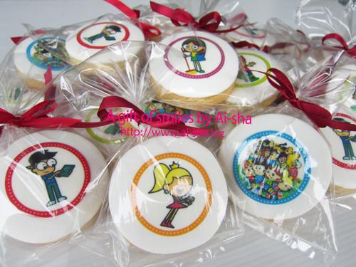 Edible Image Cookies CashVille Kidz