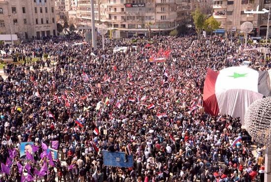 Pro Assad Demo