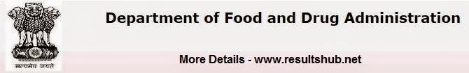 Food & Drug Department Maharashtra Recruitment 2014